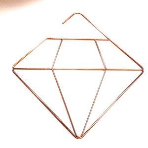 Posh Diamond Shaped Scarf Hangers